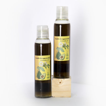 Aceite corporal de aguacate